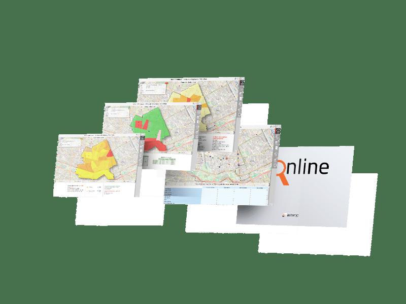 dashboard application geomarketing analyzer online
