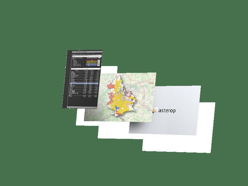 dashboard logiciels geomarketing ciblage isa