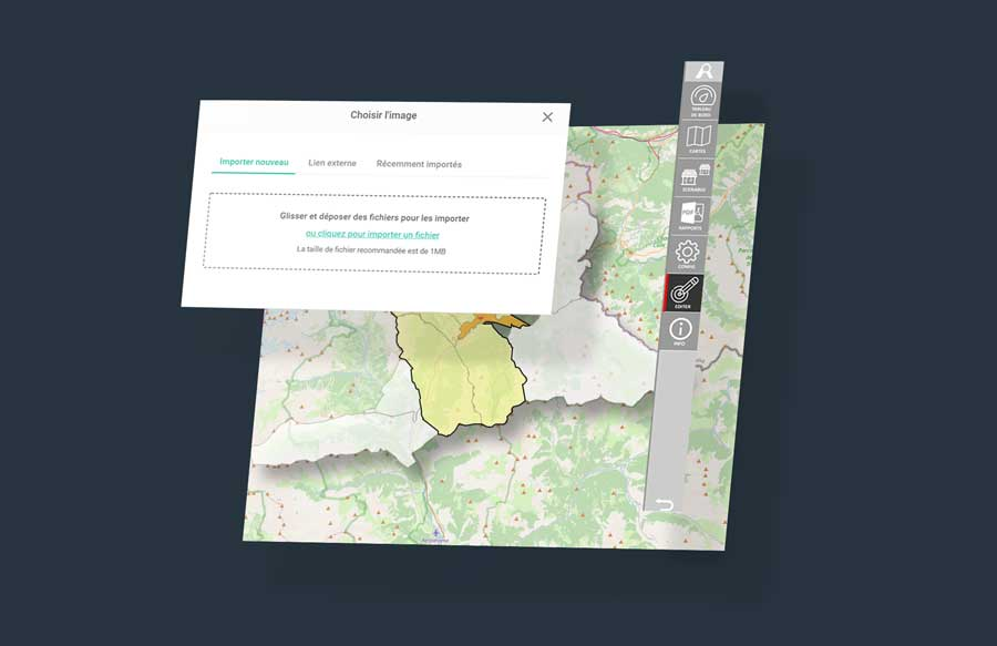 dashboard phototheque analyzer online